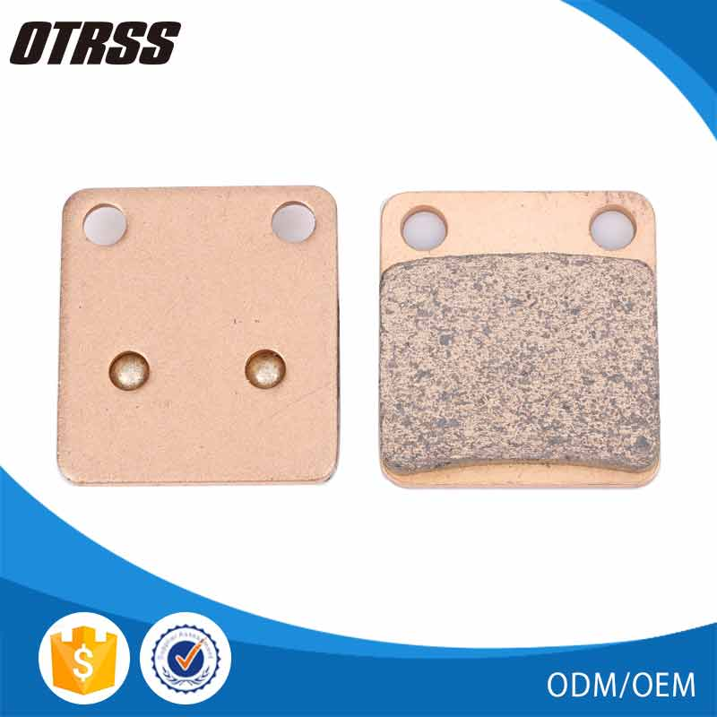 High temperature resistant and wear well sintered metal brake pad for DAELIM