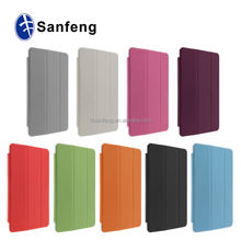 Sleep and wake up case for ipad mini 3 protector case / useful flip tablet cover for ipad mini 3 slim case 2015 new arrival
