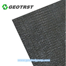 High quality cheap PET polyester fabric construction woven geotextile roll