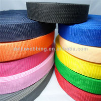 high quality colorful PP webbing belt