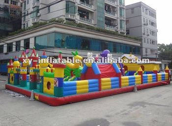 Outdoor toys giant inflatable amusement park