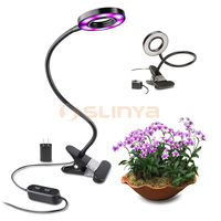 Full Spectrum 10W Clip LED Hydroponic Led Plant Grow Lights for Greenhouse