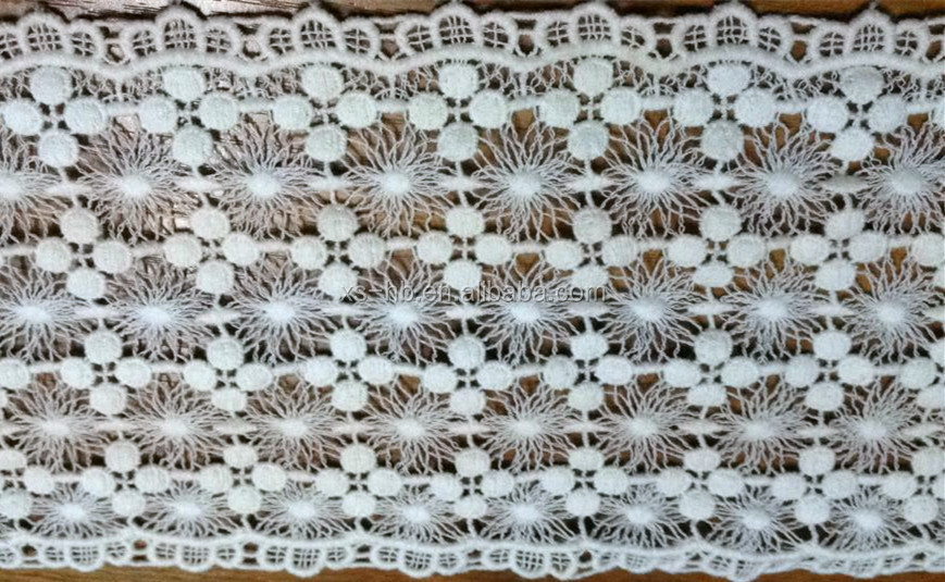 13cm embroidered lace swiss embroidery lace
