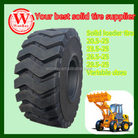 Hot sale solid rubber hilo otr tire 1800 25 17.5-25 20.5-25 with cheap price