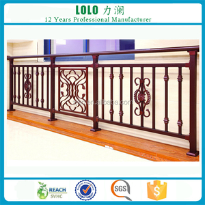 Modern Terrace Aluminum Decorative Balcony Railing Designs
