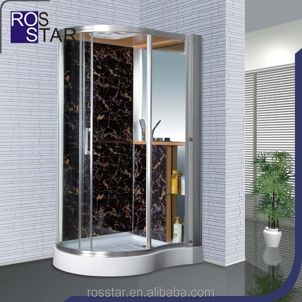 Whirlpool steam glass shower room RS-SH8108