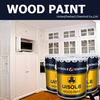 Interior PU white sealer furniture paint, wood sealer for veneer and solid wood