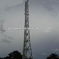 Three Legged Pole Steel Lattice Tower for Telecommunication