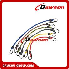 DS-BR Safety High Elasticity Colored Bungee Cord With Hook