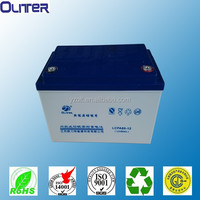 solar batteries for solar light lead acid/agm 12V38AH
