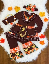 new coming unique polka dot long sleeve fall wholesale kid clothing