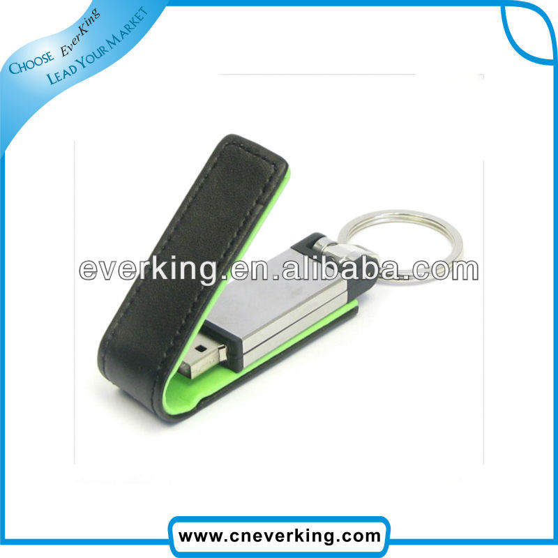 print logo your design 32gb usb flash drive leather