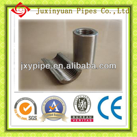 rebar coupler,sleeve,splicing rebar connection sleeve made in china ferrule sleeve