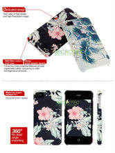 3d sublimation mobile phone case printing for iPhone4/4S,5