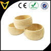 "2.2 ""Natural Wood Rings Circles Unfinished Wood for DIY Pendant Connectors Jewelry Making"