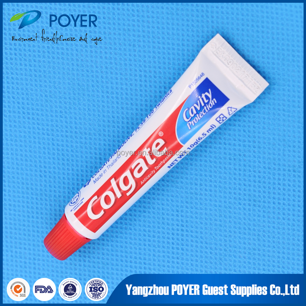 New design of cheap luxury high quality hotel colgate toothpaste