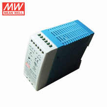 10W to 100W MEAN WELL Din Rail Power Supply 24vdc 1.5a Mini Size with ul ce cb pfc MDR-40-24