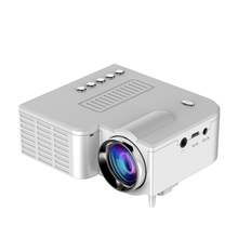 New Arrival!!!Lastest Cheap High Brightness 500Lumens 12V LED UC28A Home Theater Projector