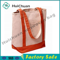 Promotional Customised High Quality 100% cotton canvas bags