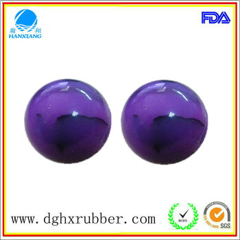 Dongguan manufacturer high bouncy silicone molds ball