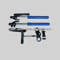 China cheap 735mm blue motorcycle front fork tube
