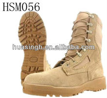 water-proof Belleville combat tan desert hot weather boots for military force