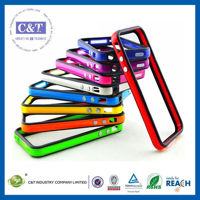 C&T Top-selling protective skin case for iphone 5s tpu bumpers