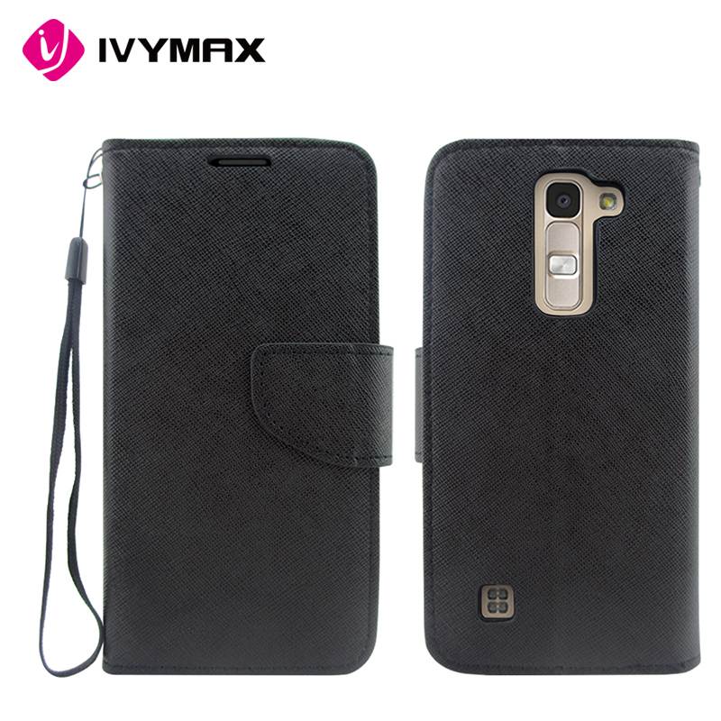 IVYMAX wholesale factory price mercury goospery fancy diary wallet case for LG K7