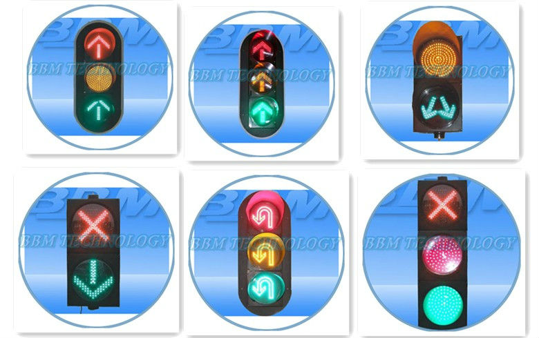 Non-Motor Vehicle Bicycle Traffic Light Dynamic CE