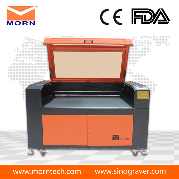 Hot Sale Acrylic / Plastic / Wood / PVC board / CO2 Laser Cutter Price 1390
