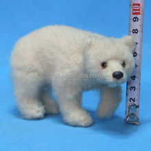 outdoor playground Park Amusement pole animal real size polar bear