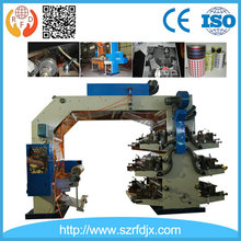 CE Standard High Performance 6 Colour Flexo Printing Machine