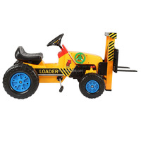 New model ride on car toy tractor with Forklift