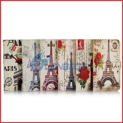 Tower PU Wallet Flip Cover Leather Case for Samsung Galaxy S5 i9600