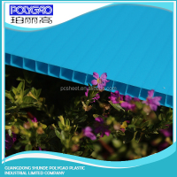 Factory Price PC twin wall roofing panel polycarbonate clear panels