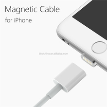 2016 Hot Sale 1M 8pin Magnetic Micro USB charging Cable Charger Adapter For iPhone6/6s Plus/5s/5c/5 andorid