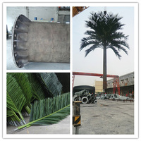 Bionic Palm Tree Telecommunication Tower Camouflaged