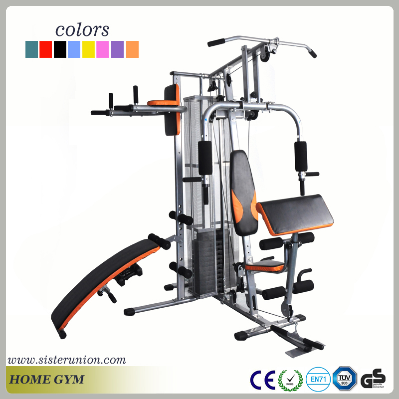 Home Exercise Equipment For Disabled: Home Use Multi Station Dumbbell Bench Gym Fitness