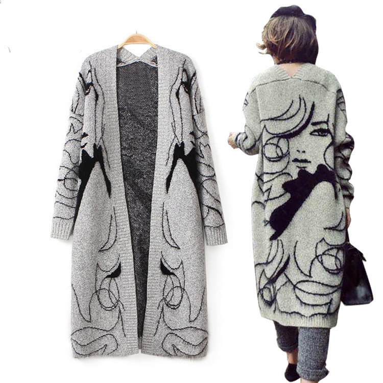 a589311df06 Get Quotations · 2015 Time-limited Sale Cardigan Christmas Sweater Women  Poncho Wool 100 Sweaters Womens Capes And