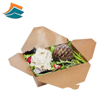 disposable take out paper lunch box food container box