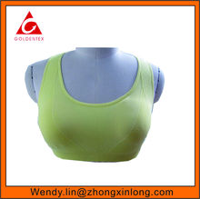 Women Fashion Seamless Running Sports Bra with Racerback