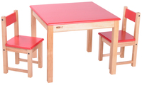 Most popular colorful kid table and chair set wholesale customized study table and chair set