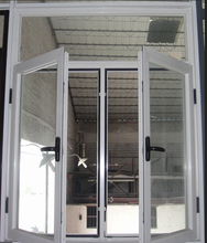 aluminum frame fixed glass windows/ solid glass window/ opaque glass windows