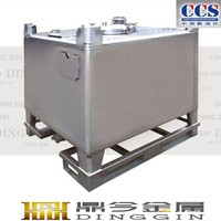 ss304 stainless steel fish ibc tank