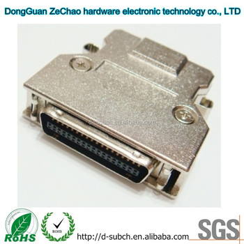 1.27mm SCSI CN-Type Connector with 5.0Amp Current Rating 36 way
