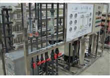 Reverse osmosis system as pretreatment +EDI for pharmaceutical plant