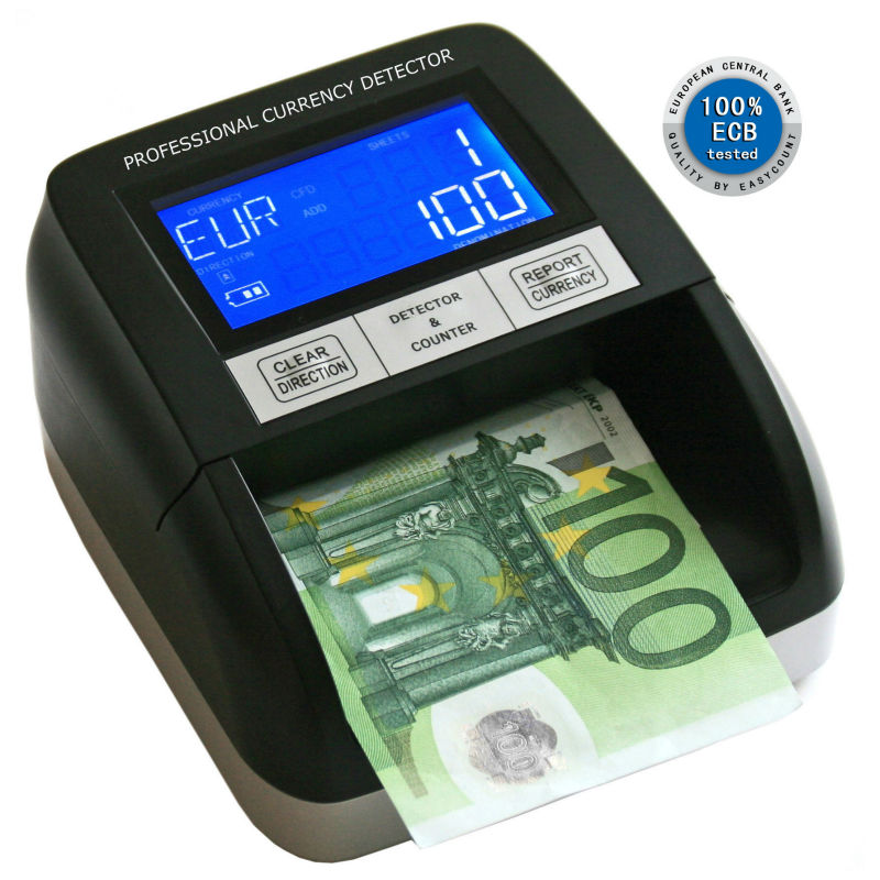 EC330 new! low price! fake currency detector/multi cash bill counter machine