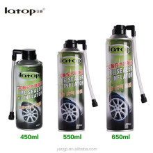 Tire sealant / inflator spray best car care products from China tire tools