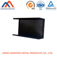 Factory OEM Black Powder Painted CNC Stamping Electronics Shell