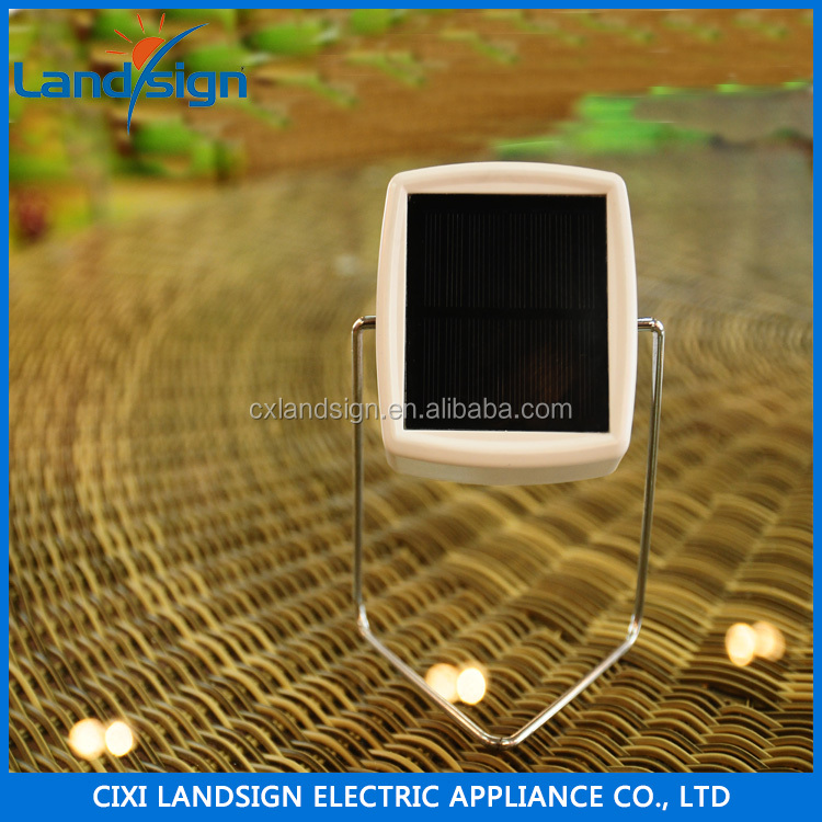 Landsign promotion solar light 93x93x145mm small size new design solar study light